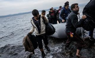 Αυξάνονται συνεχώς οι ροές μεταναστών και προσφύγων στη Λέσβο