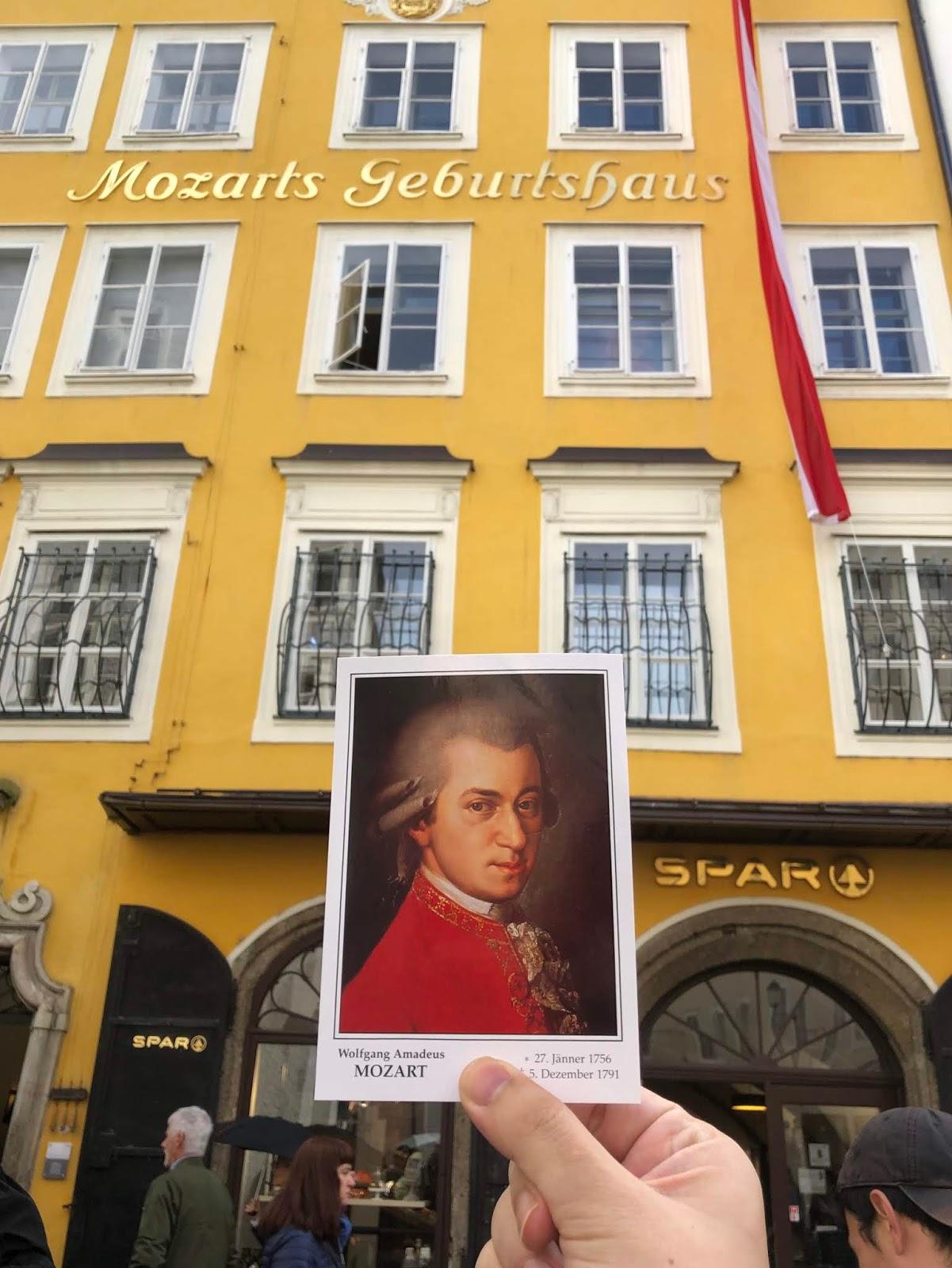 Salzburg Itinerary Mozart Birthplace & Residence