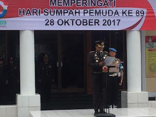 Polres Cirebon Kota Laksanakan Upacara Peringatan Sumpah Pemuda ke 89