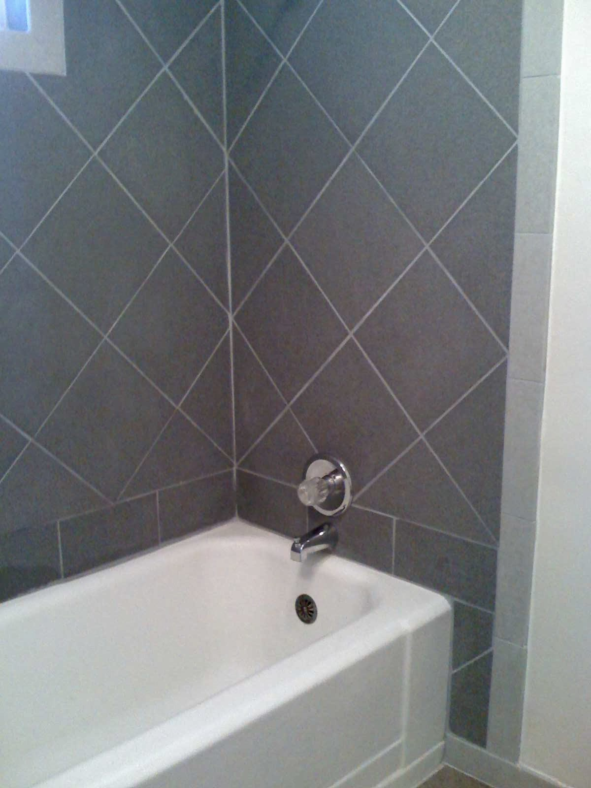 Ceramic Tile Shower