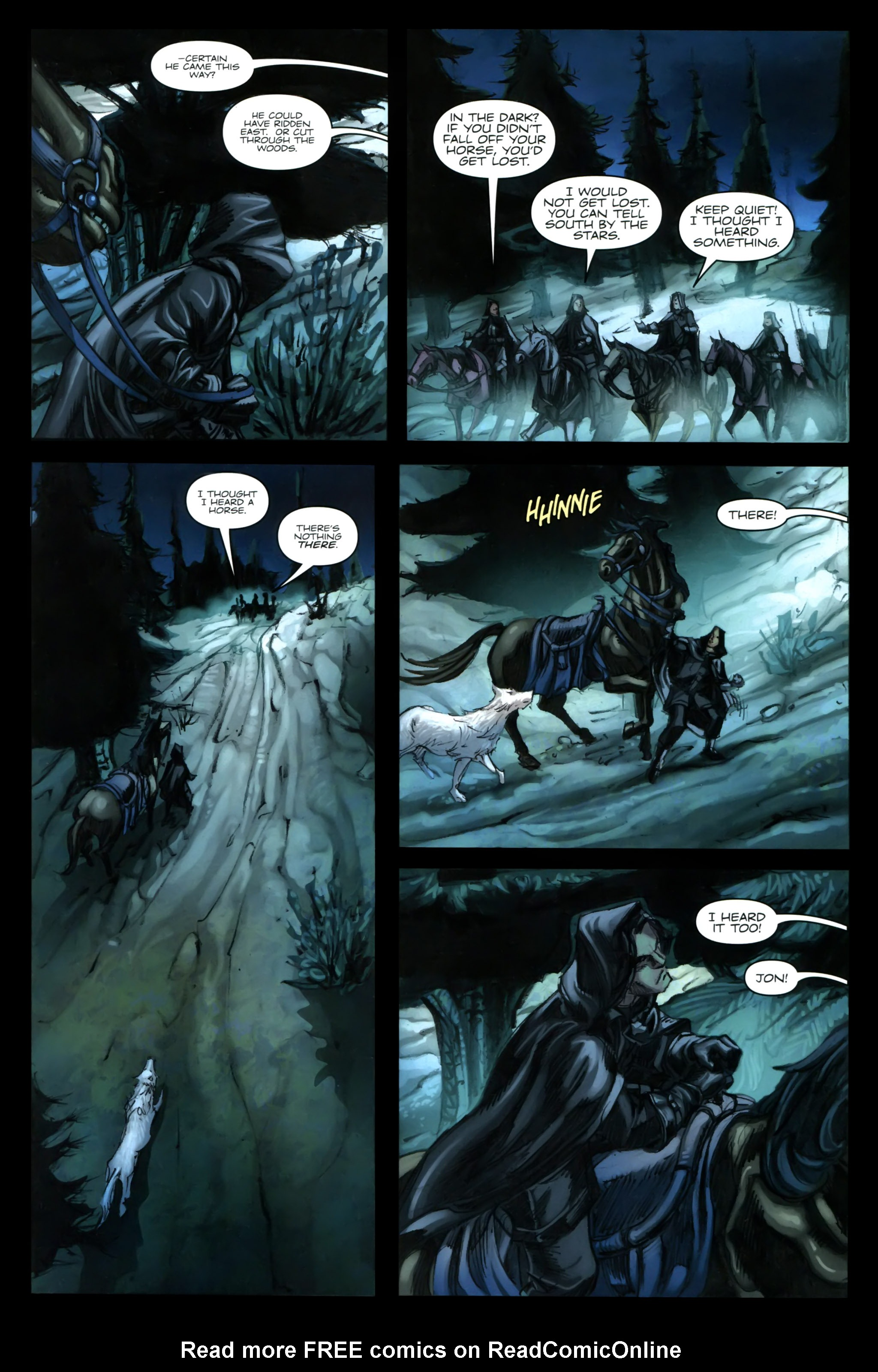 Read online A Game Of Thrones comic -  Issue #24 - 6
