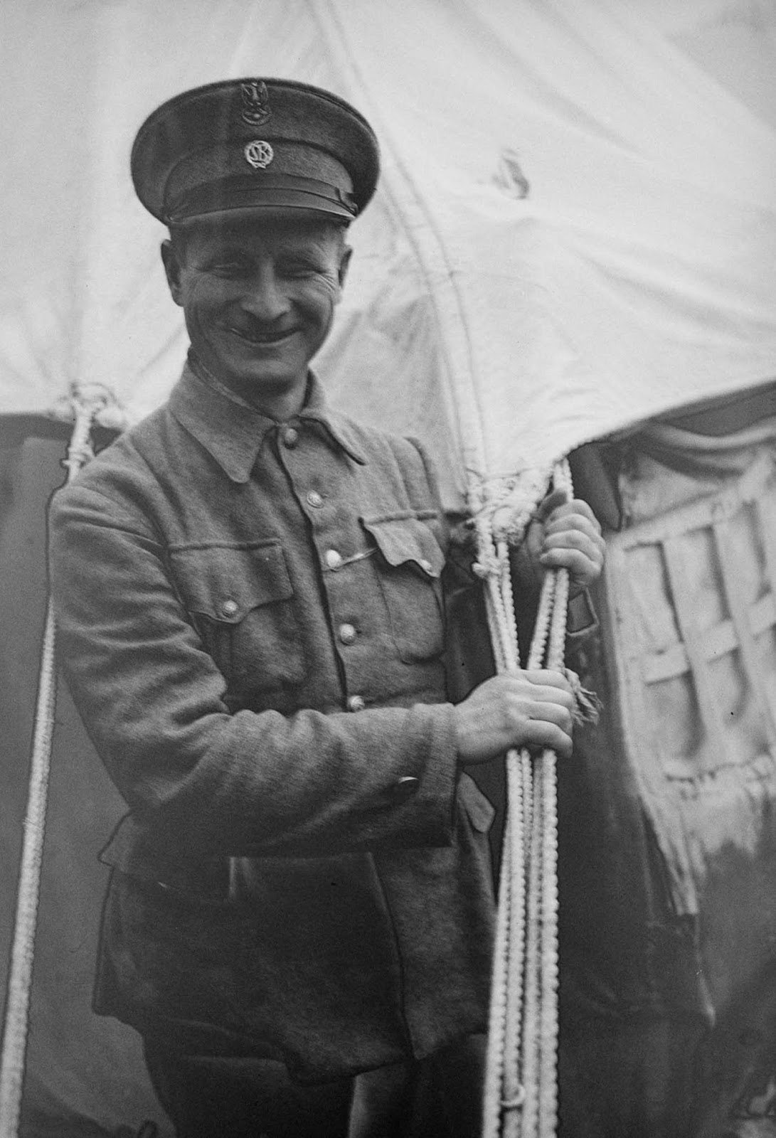 A Polish refugee who works as a guard at the camp.