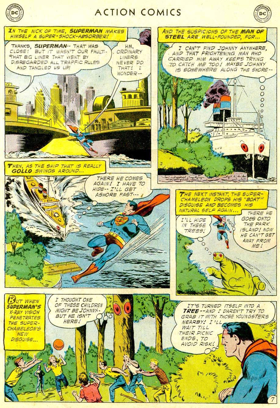 Read online Action Comics (1938) comic -  Issue #234 - 9