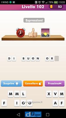 Emoji Quiz soluzione livello 102