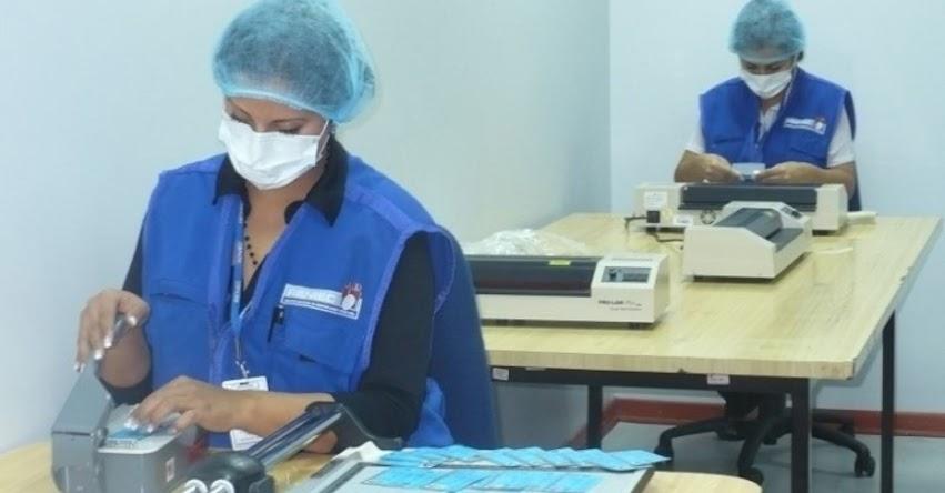 RENIEC instala fábrica para elaboración de DNI en Tarapoto en la región San Martín - www.reniec.gob.pe