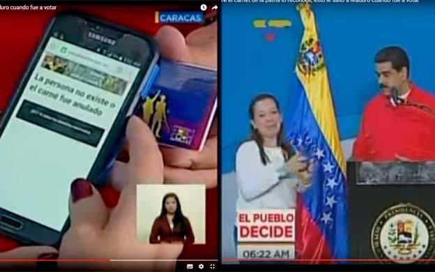 ¡Maduro no existe! Ni el sistema del carnet de la patria lo reconoce