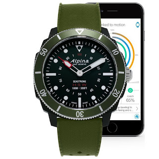 Alpina: Seastrong Horological Smart Watch – Baselworld