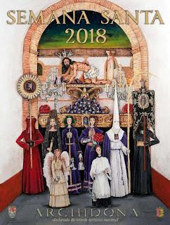 Resultado de imagen de Semana Santa Archidona (Málaga) 2018