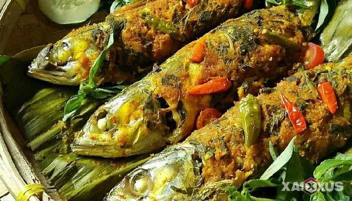 Resep cara membuat pepes ikan kembung