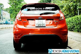 So sánh Toyota Vios với Ford Fiesta 9