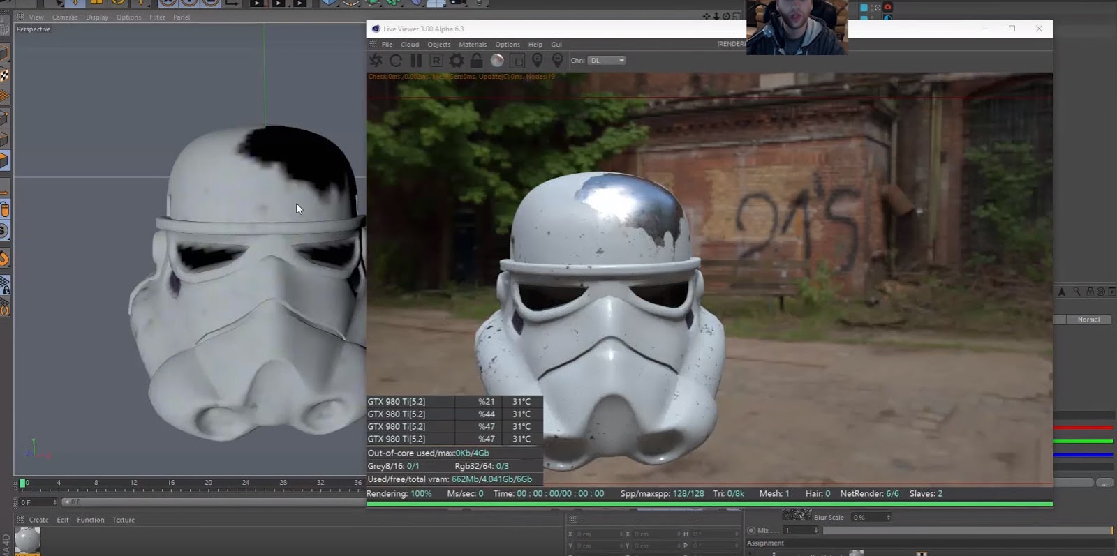 Character Design Cinema 4d Tutorial : Substance designer to octane for cinema d pbr cg tutorial