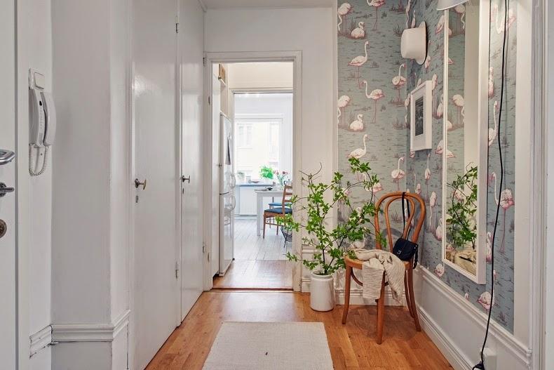 apartamento nórdico abierto a la luz