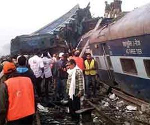 Número de mortes em acidente de trem na Índia sobe para 146