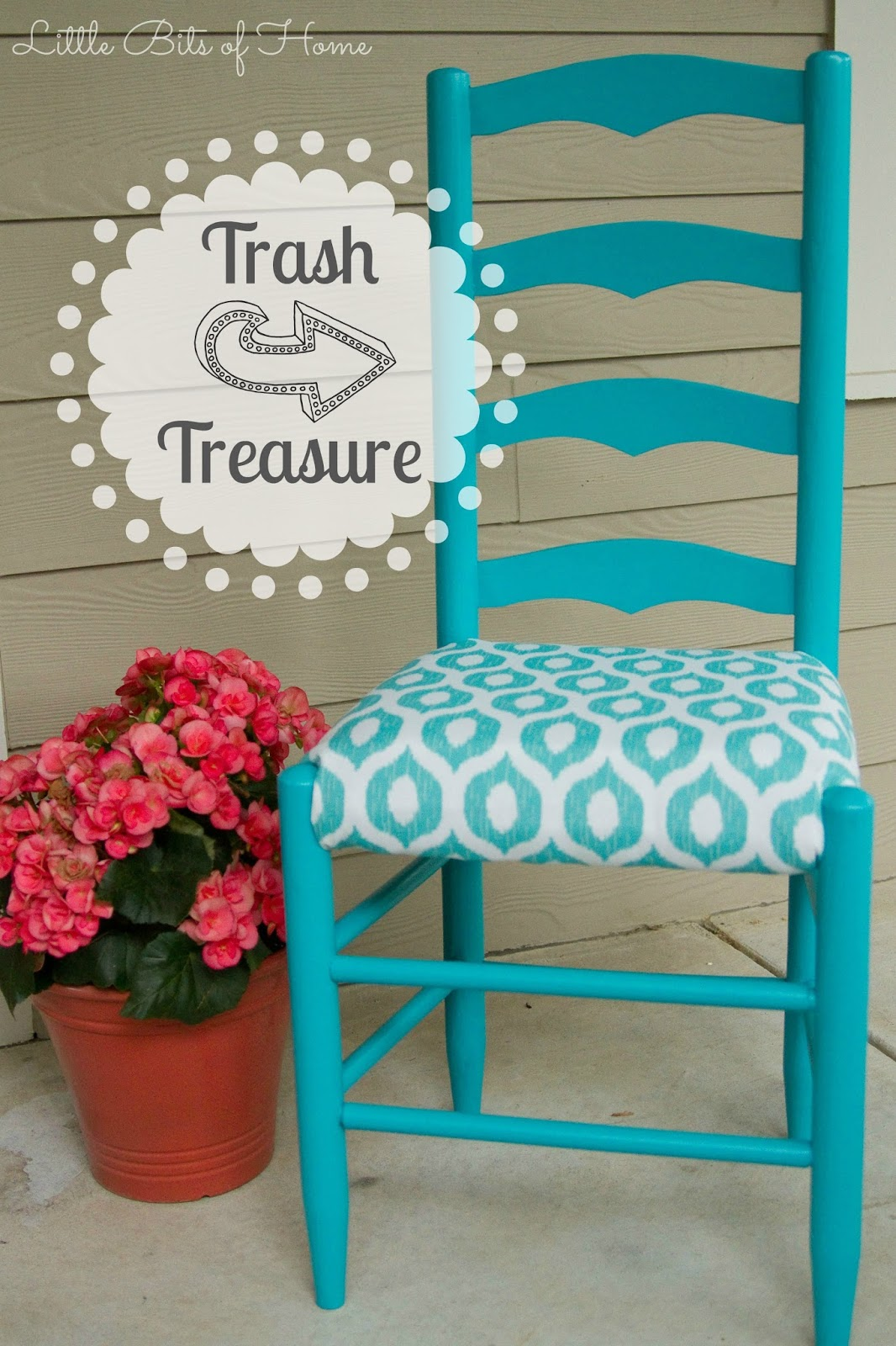 Trash To Treasure Chair Makeover