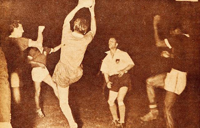 Chile y Colombia en Campeonato Sudamericano de 1945