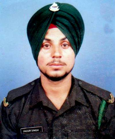 Indian solider