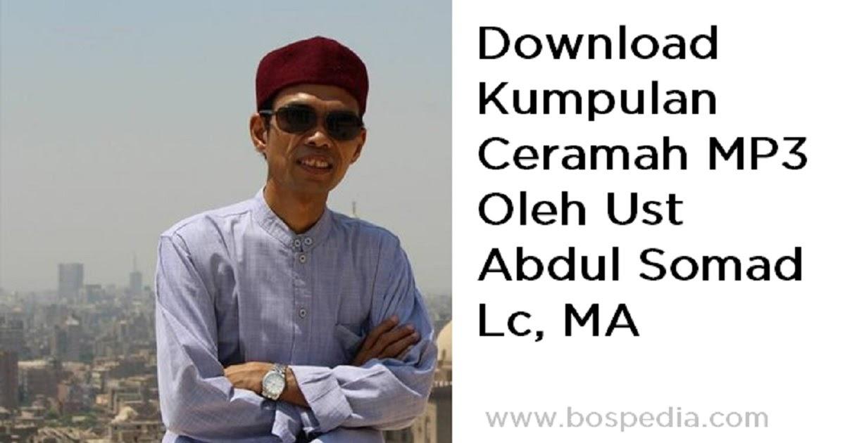 Lengkap - Kumpulan Ceramah MP3 Oleh Ust Abdul Somad Lc, MA ...