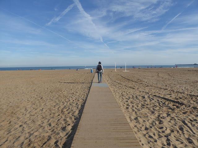 spiaggia di malvarrosa a valencia