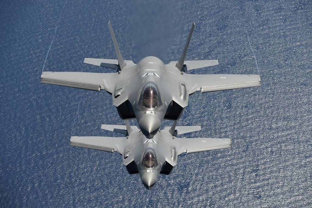 Italian Air Force deploys six F-35A jets in Sardinia to