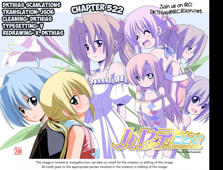 Hayate the Combat Butler - Chapter 557