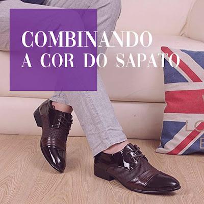 Como combinar a cor do sapato com a da calça?