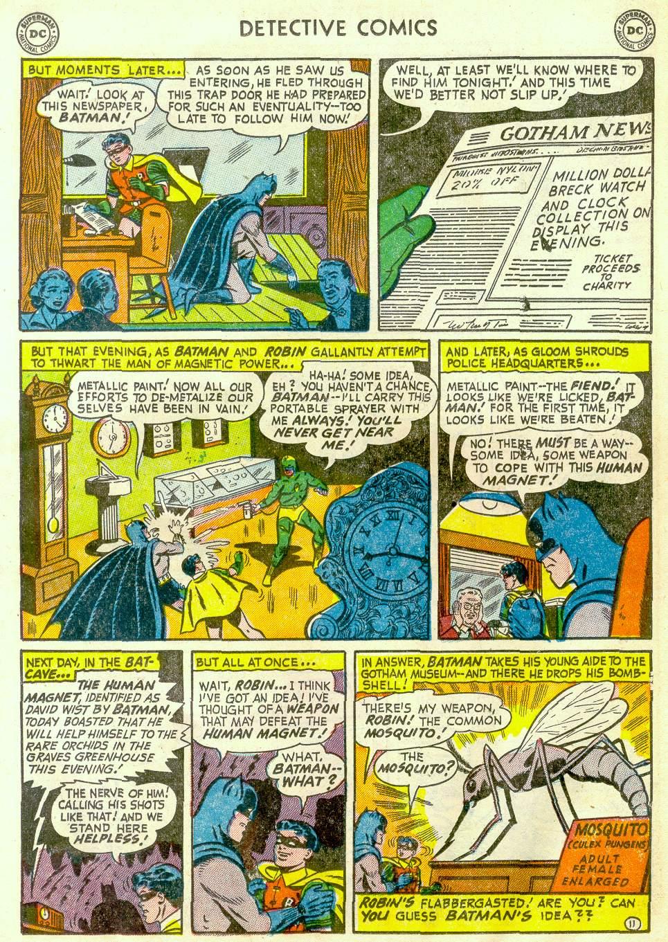 Read online Detective Comics (1937) comic -  Issue #181 - 13