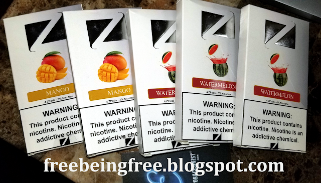 Being Free: **REVIEW** ZiiP Pods (vs JUUL)