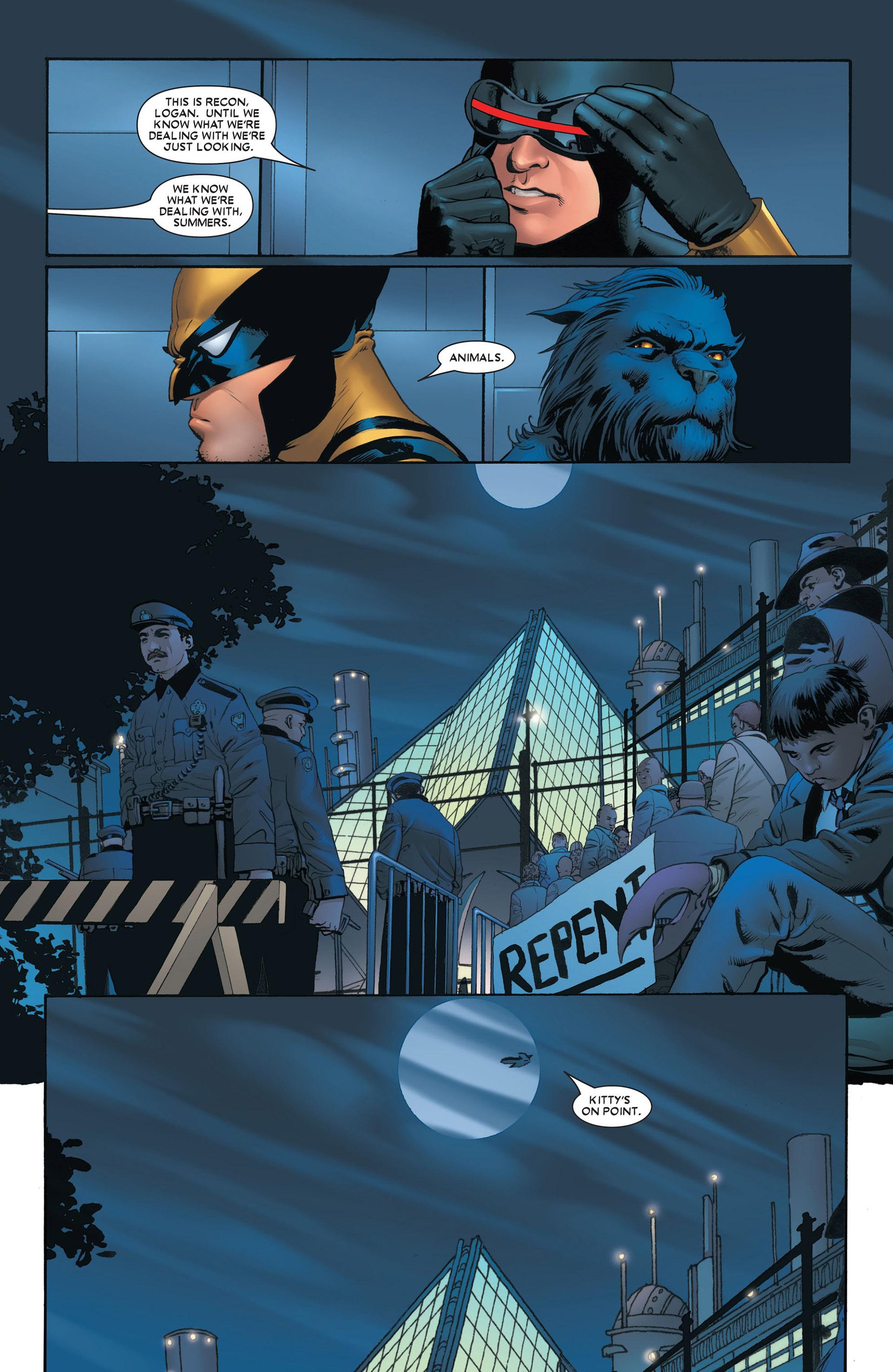 Read online Astonishing X-Men (2004) comic -  Issue #4 - 5