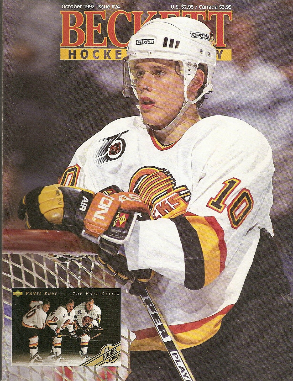 What Are The Panthers Score >> Vancouver Canucks Legends: Pavel Bure
