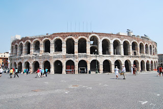 The Arena at Verona, the city's most famous landmark