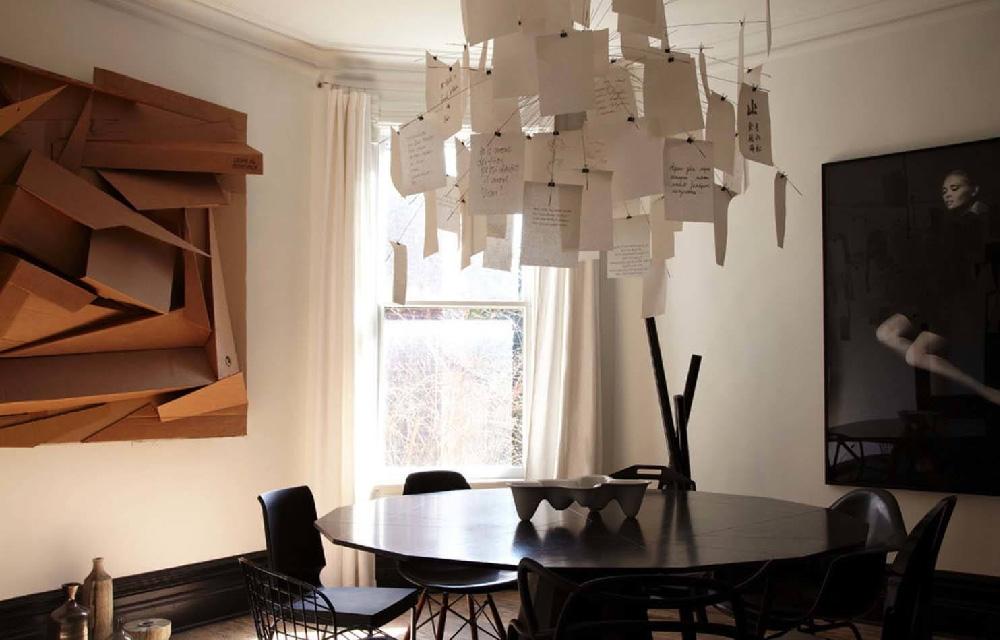 l'iconica lampada Zettel'z 5 di Ingo Mauer