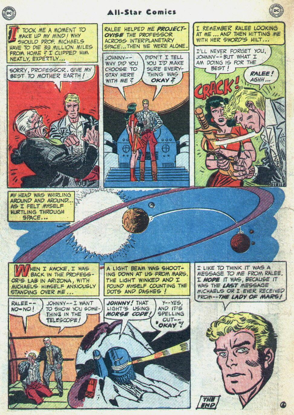 Read online All-Star Comics comic -  Issue #57 - 50