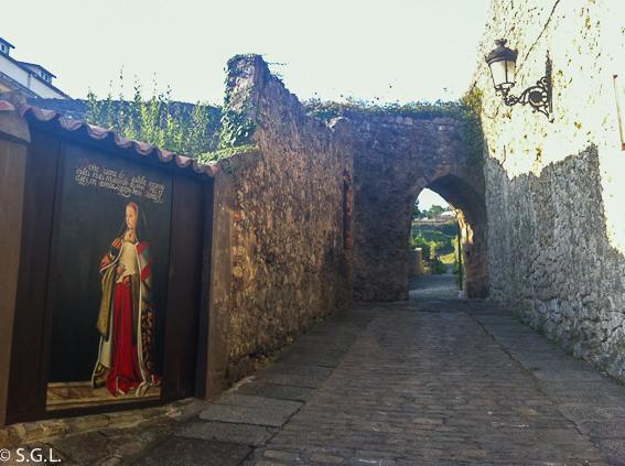 Callejuela de La Puebla Vieja de Laredo