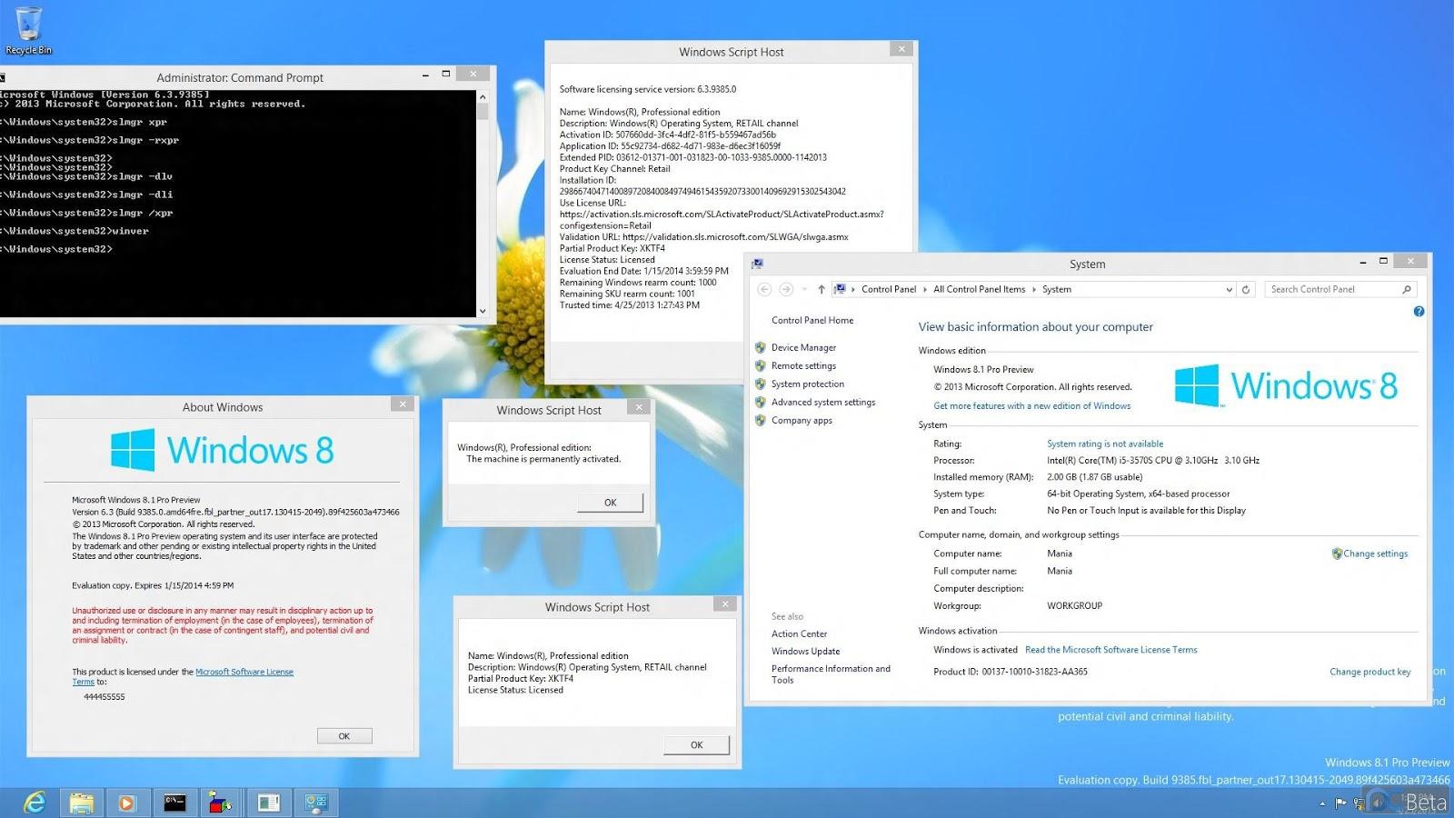 iso windows 8 1 pro