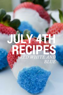 july 4th patriotic red white and blue desserts recipes