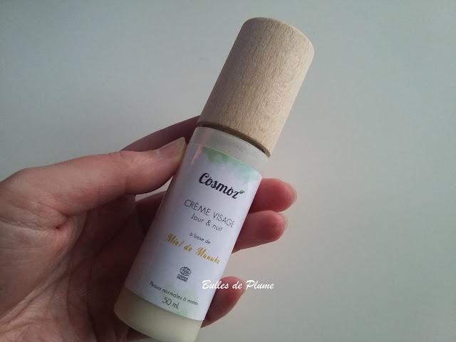 Bulles de Plume - Crème visage Jour & Nuit au miel (Cosmoz)