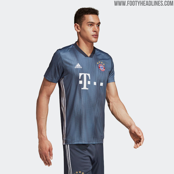 wholesale dealer 1c46f 0b03a Bayern München 18-19 Third Kit Released - Footy Headlines