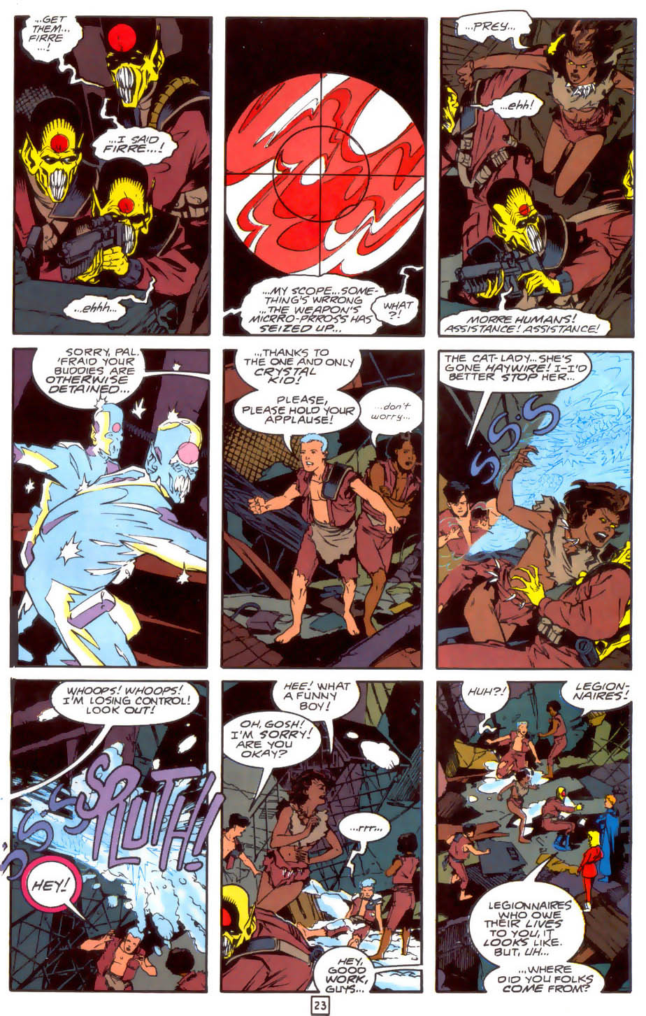 Legion of Super-Heroes (1989) 33 Page 23
