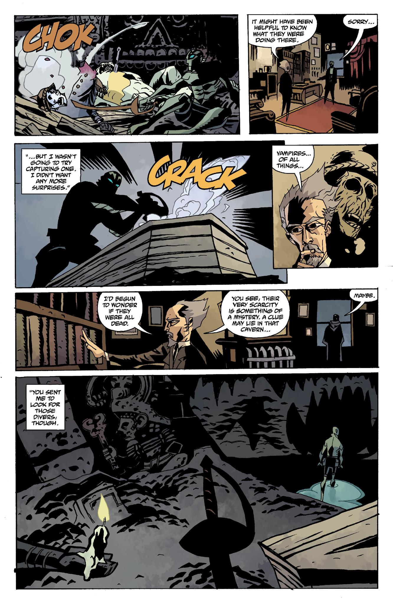 Read online Abe Sapien comic -  Issue #8 - 22