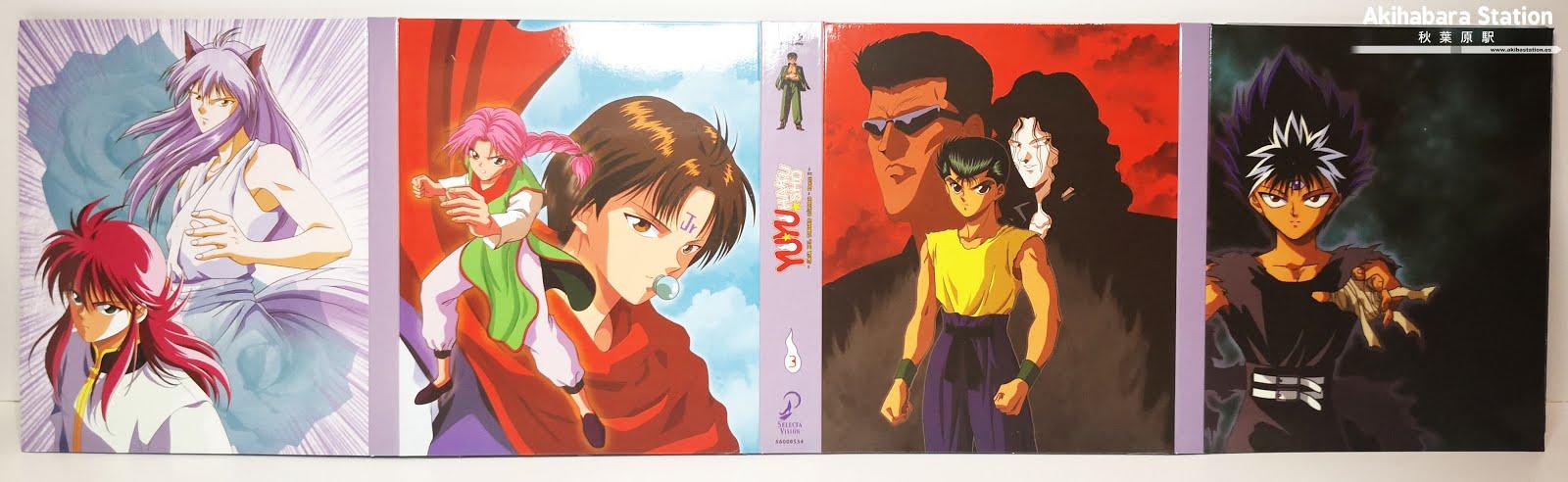 "Review de ""Yū Yū Hakusho"" Box.3 ed. Coleccionistas - SelectaVisión"