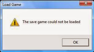 FM save game could not be loaded