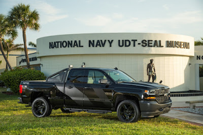 Chevrolet and The National Navy SEAL Museum Honor National Military Appreciation Month