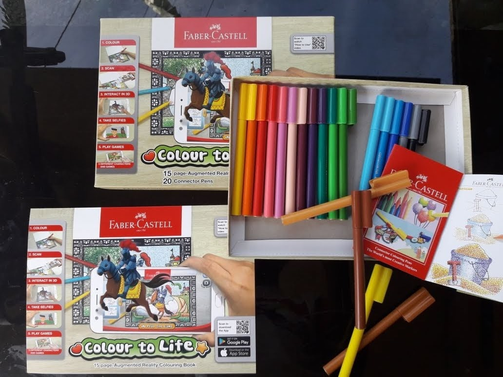 Serunya Mewarnai Dan Bermain Bersama Colour To Life Faber Castell