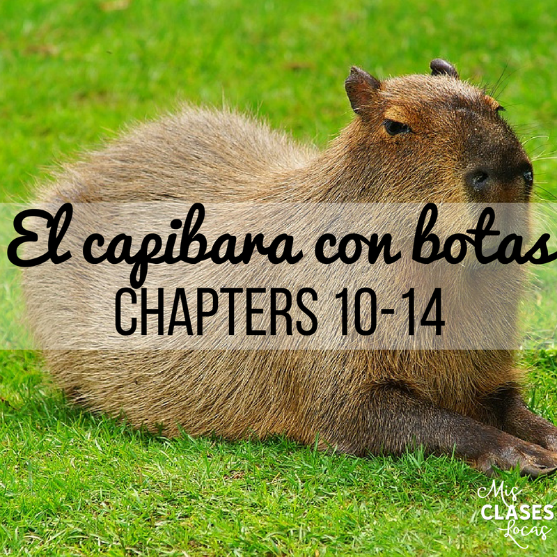 Teaching El capibara con botas Chapters 10-14