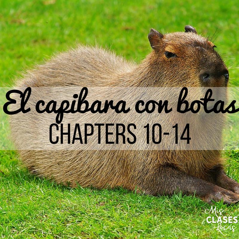 Teaching El capibara con botas Chapters 10-14