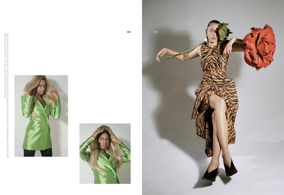 Solveig Mork Hansen & Ebonee Davis by Brianna Capozzi for Marfa Journal No.5