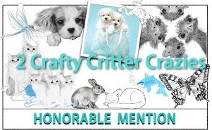 Honorable mention #29   2 crafty critter crazies