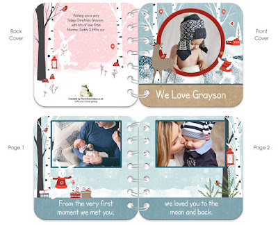 personalised handmade baby board books from PhotoFairytales