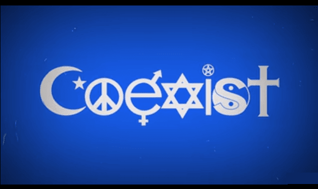 The Fight Over Coexist