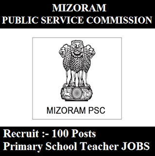 Mizoram Public Service Commission, Mizoram PSC, PSC, Mizoram, 12th, Primary Teacher, freejobalert, Sarkari Naukri, Latest Jobs, mizoram psc logo